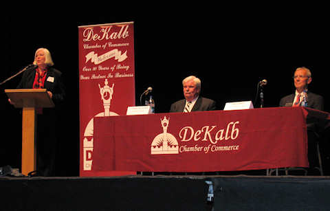 DeKalb Chamber of Commerce Candidate Forum 2010