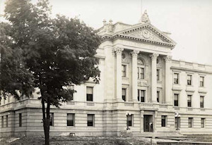 "Brown Bag Lunch: ""History of the DeKalb County Courthouse ..."