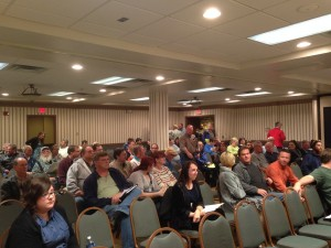 Ninety-three people attended the FOCUS DeKalb Town Hall meeting. Seventy-one signed the sign in sheets.