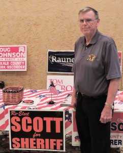Roger Scott is running unopposed for re-election as DeKalb County Sheriff.