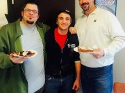Country Store & Catering employee Zachary Guerrieri with The Score's