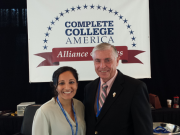 Attending the Conference from Illinois was the Governor's new post-secondary Education Manager Niketa Brar.