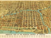 An-early-20th-century-map-of-the-Chicago-business-district