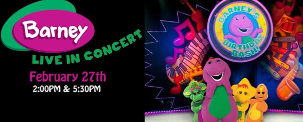 Barney Live In Concert Birthday Bash Sunday DeKalb County Online - Barney live in concert birthday