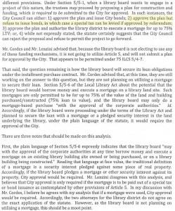 From City Attorney, Dennis Frieders, memo to City Councikl
