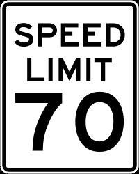 speedlimit70