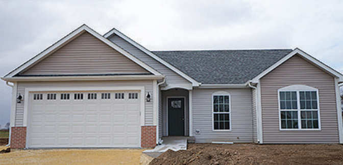 Open house zero step entry new construction ranch style for New construction ranch homes