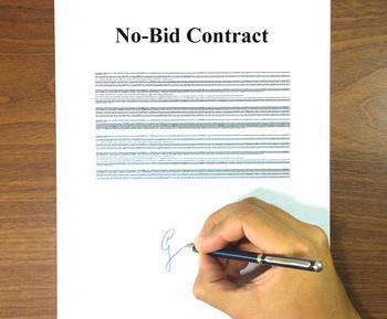 No Bid Contract image