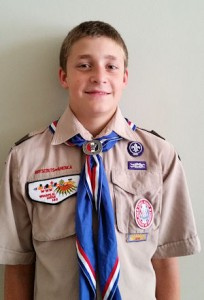 Eagle Scout Cole Moon