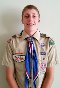 Eagle Scout Collin Moon