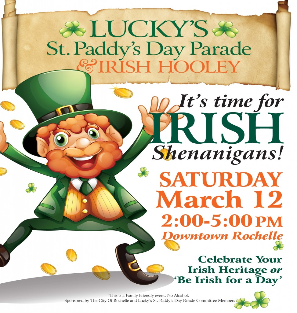 Lucky's St. Paddy's Day Parade & Irish Hooley