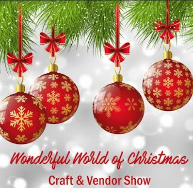 Wonderful world of christmas craft vendor show at genoa for Christmas craft shows in delaware