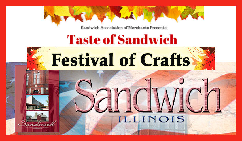 taste of sandwich craft show this wednesday and thursday