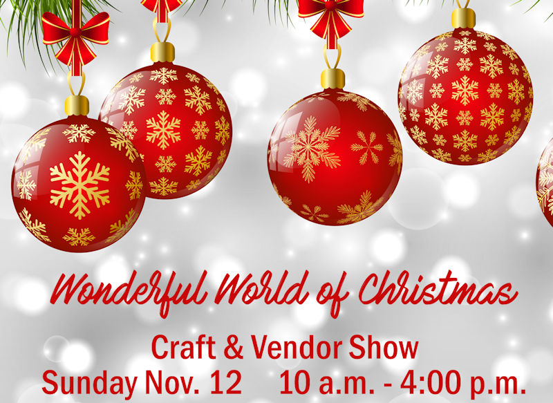 Wonderful world of christmas craft vendor show dekalb for Christmas craft shows in delaware