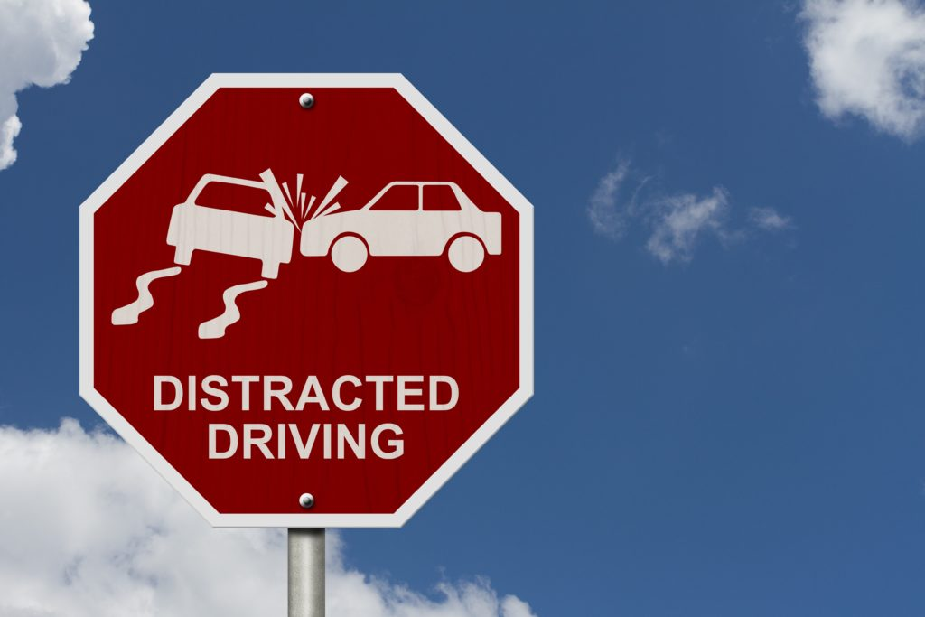 Distracted driving causes accidents.