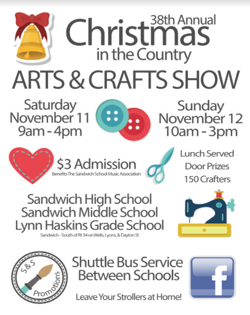 Christmas in the country craft sale dekalb county events for Christmas craft shows in delaware