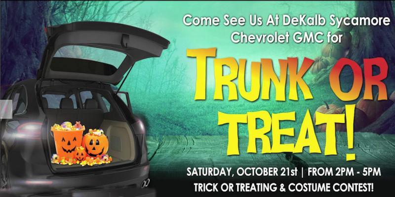 Trunk Or Treat At Dekalb Sycamore Chevrolet Gmc Saturday