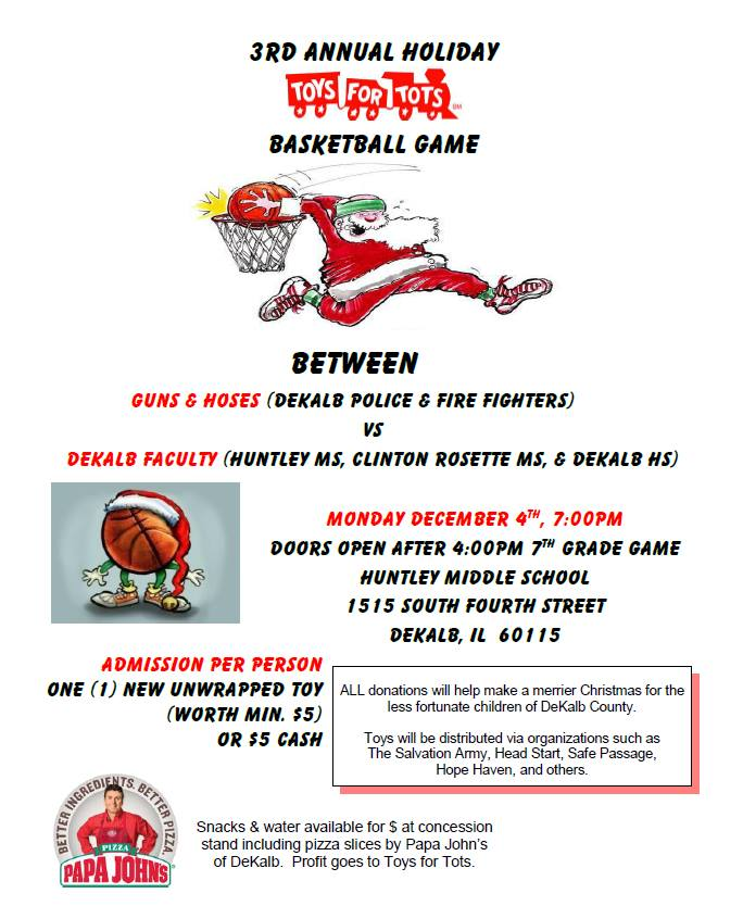 Organization For Toys For Tots Application Form : Toys for tots basketball game tonight dekalb county online