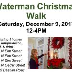 Waterman's Christmas House Walk & Holiday Events Saturday!