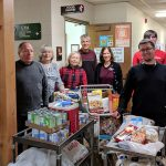 Northern Rehab Delivers Food Donation to Area Food Pantries