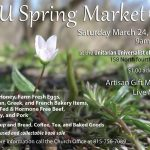 UU Spring Market this Saturday!