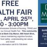 Barb City Manor to host Free Health Fair Wednesday