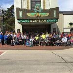 Volunteers Rock on Downtown Clean Up