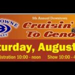 Cruisin' To Genoa Car Show plus Tractor Show Saturday