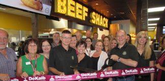 Beef Shack Ribbon Cutting Ceremony