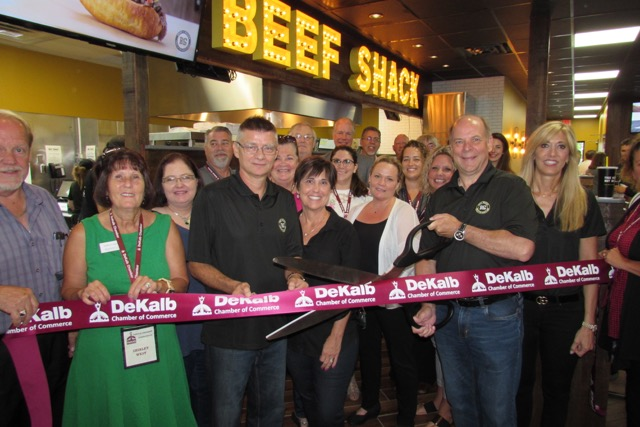 Beef Shack Ribbon Cutting Ceremony