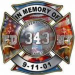 911 FD Badge