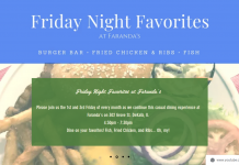 Faranda's Friday Night Favorites