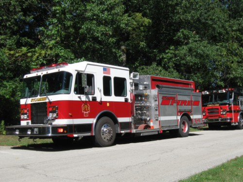 Sycamore Fire Truck