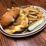Vampire Slayer Burger at PJ's Courthouse Tavern