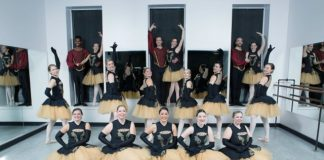 Nutcracker Alumni, Egyptian theatre, st charles high school, dekalb, performance, beth fowler, school, dance