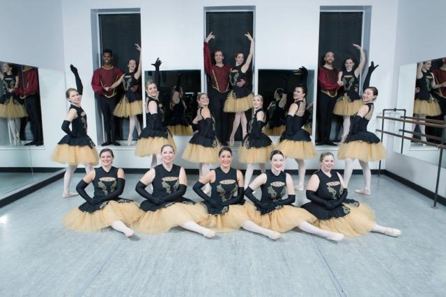 Nutcracker Alumni, Egyptian theatre, st charles high school, dekalb, performance, beth fowler, school, dance