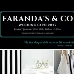 Save the Date: Faranda's Wedding Expo 2019