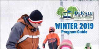 dekalb, park district, winter, programs, kids