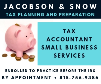 jacobson, snow, accountant, taxes, file, small, business, dekalb, il, sycamore