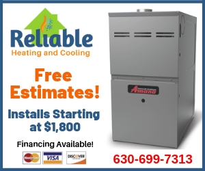 reliable, heating, cooling, shabbona, dekalb, sycamore, hvac