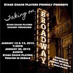 Stage Coach Takes on Broadway for Fundraiser