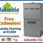 Reliable Heating & Cooling Is Not Comfortable Until You Are