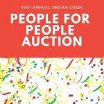 Indian Creek People for People Auction Sunday