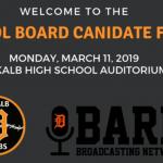 Video of Dekalb 428 School Board Candidate Forum