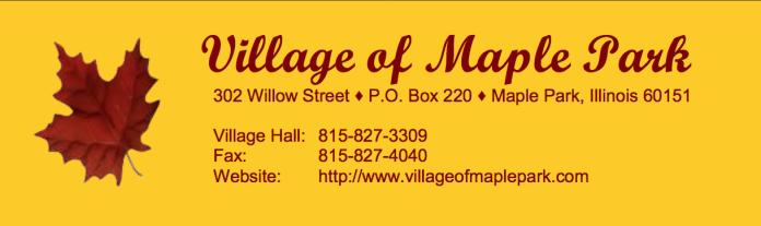 village of maple park