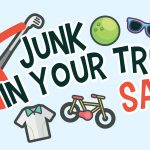 Treasure Hunt at the 'Junk in Your Trunk Sale'