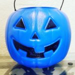 Blue Bucket Halloween