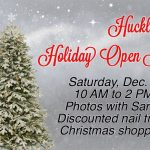 Join Us! Saturday, December 7th