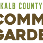 DeKalb County Community Gardens Update