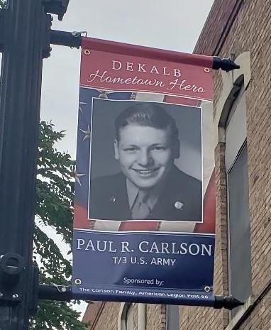 DeKalb Hometown Hero Veteran Banners - 2020